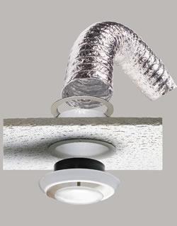 6 Quot X 20 Supurr Flex Metallic Duct Suspended Ceiling