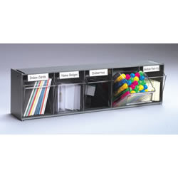 5 Bin Storage Unit (Black)