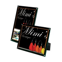 "4-in-1 Magnetic Sign Holder 5"" x 7"""