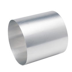 "Deflecto 3"" Diameter Aluminum Duct Connector"