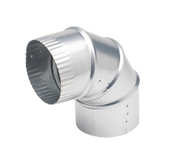 "6"" Diameter Adjustable Aluminum Elbow"