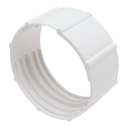 "Deflecto 4"" Diameter Duct Coupler"