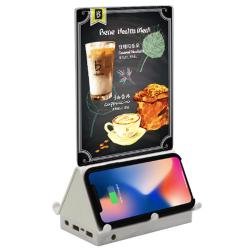 Wireless Charging Table Tent